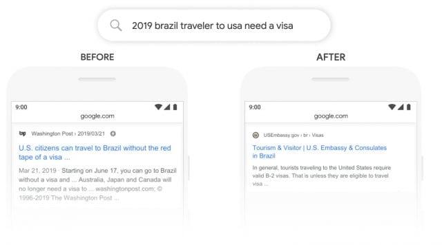 E-Expansion - Google BERT update