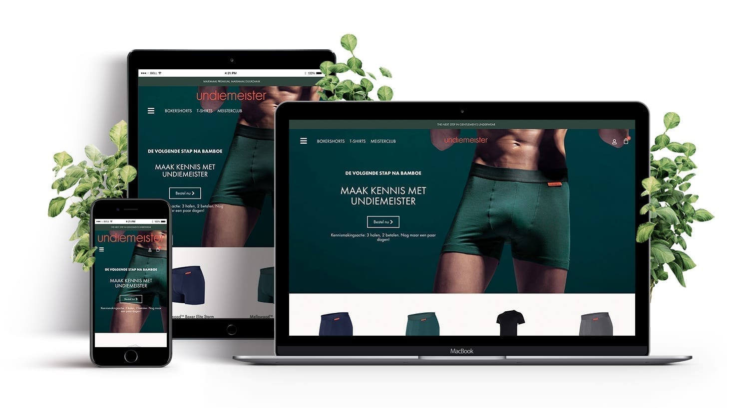 E-Expansion - Undiemeister - Website design