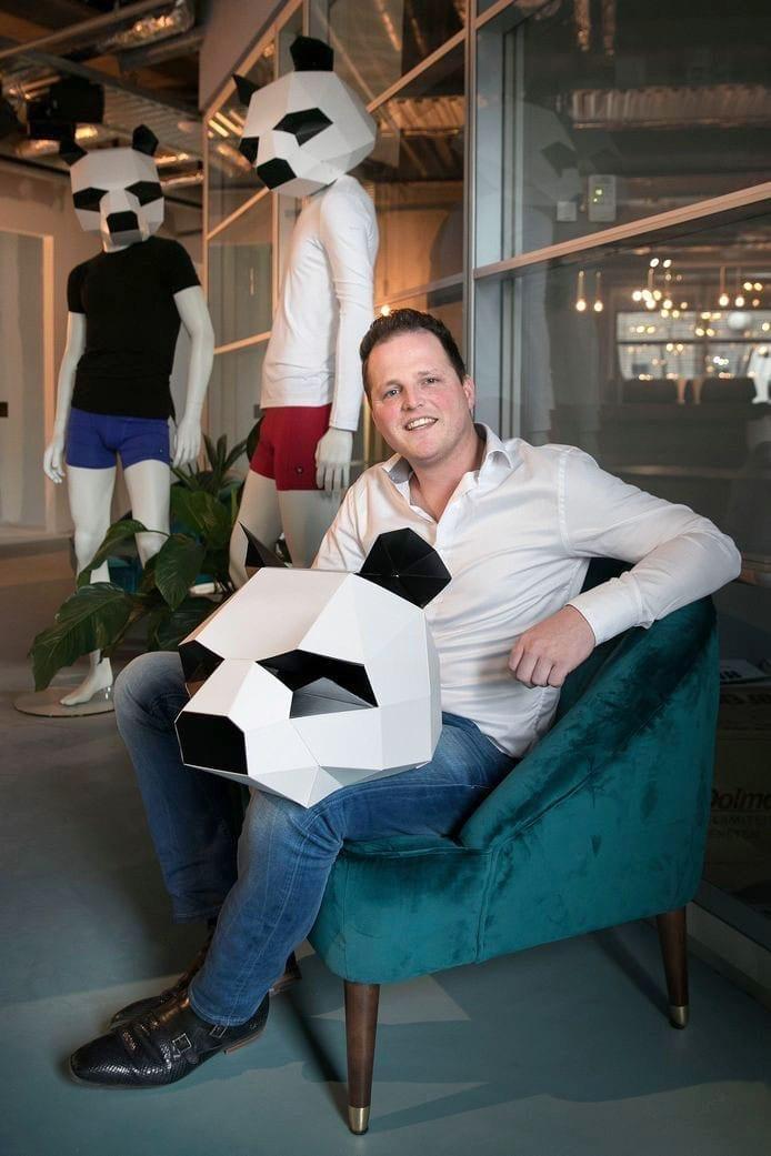 Jeroen Adriaans met zijn verhaal over E-Expansion